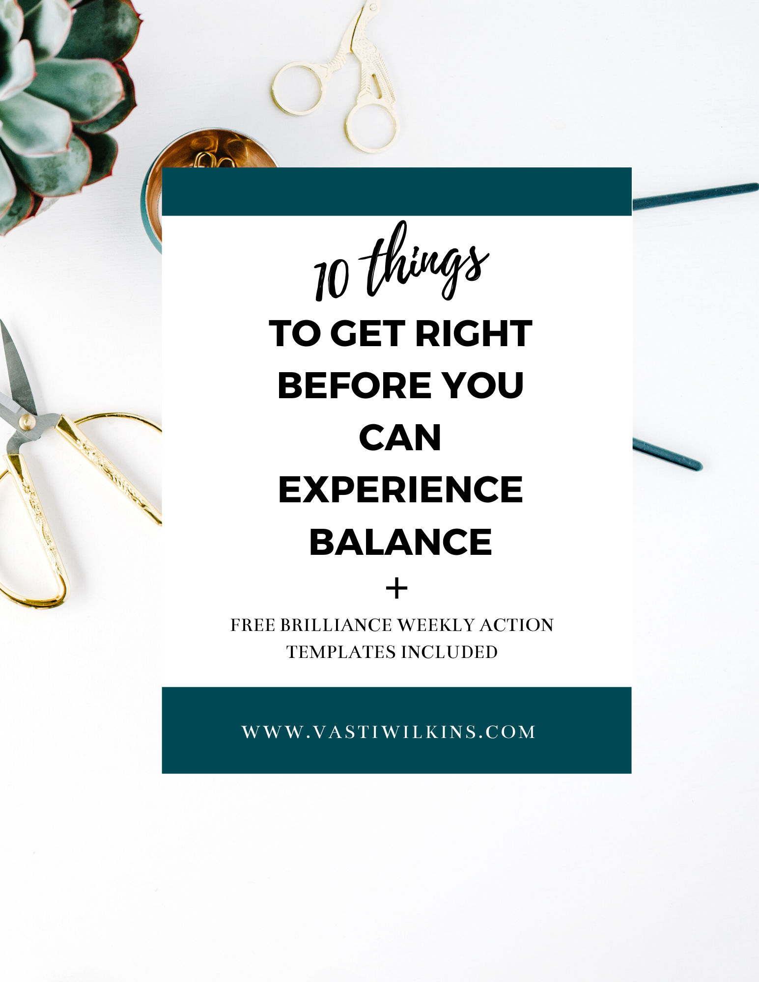 10 Things to Get Right Before You Can Experience Balance Guide